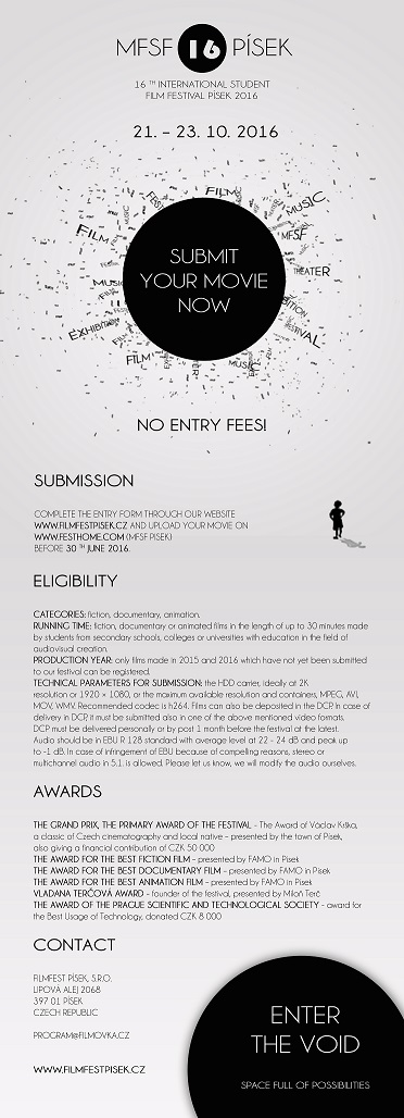 Call for entries nahled